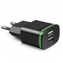 USB Charger With Two USB Ports