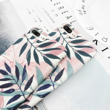 Fashionable iPhone Cases With Leaf Designs