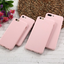 Matte Soft Silicone Cases for iPhones